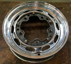 Porsche 356 356a 356b Chrome Kpz 4 1 2x15 Steel Wheel