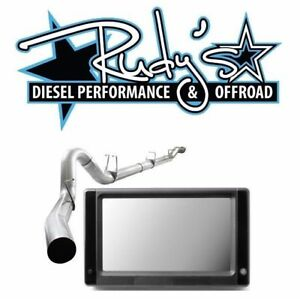 Touch Screen Dpf Egr Delete Tuner 4 Exhaust For 2008 2010 Ford 6 4l Powerstroke