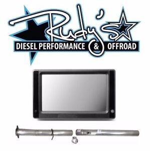 Touch Screen Tuner 4 Dpf Cat Delete Pipes For 2008 2010 Ford 6 4l Powerstroke