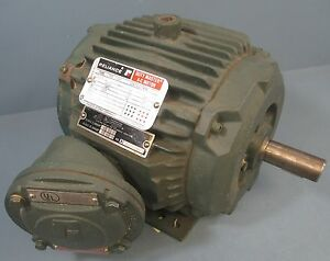 Reliance Duty Master A c Motor 1 5 Hp 230 460v 1155 Rpm 5 2 5 Amps 3 ph 60hz