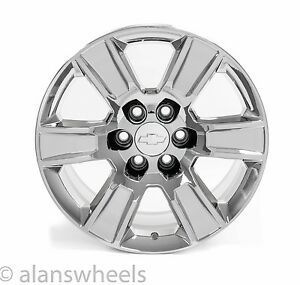 4 New Chevy Silverado Avalanche Chrome 20 Wheels Rims Lugs Free Shipping 5650