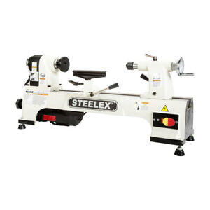 Steelex St1008 10 inch X 15 inch 1 2 hp Single phase Benchtop Wood Lathe