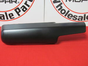 Dodge Ram 1500 2500 3500 Right Side Trailer Tow Mirror Front Arm Cover Oem Mopar