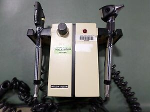 Welch Allyn 74710 Otoscope Opthalmoscope Set