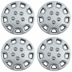 4 Pc Hubcaps Fits 87 96 Toyota Camry 14 Silver Abs Replacement Wheel Rim Cover