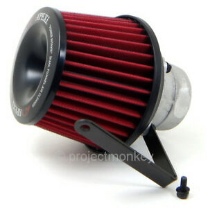 Apexi 508 h004 Power Intake Dual Funnel Air Filter Fits 94 01 Acura Integra Dc2