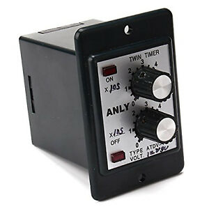 Us Stock Timer Atdv y 12v Dc 60s Second Double Time Delay Switch Base Socket