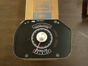 Nos Oem Ford 1968 Torino Fairlane Gas Gauge Fuel Tank Level Indicator Ranchero