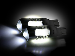 Recon 264226wh Pair Of 6 Watt Bullet wedge Style White 921 912 906 t15 Led Bulbs