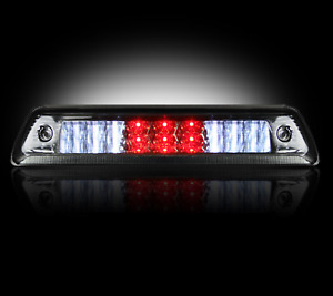 Recon 264111bk Smoked Led Rear Window 3rd Brake Light For 09 14 Ford Raptor f150