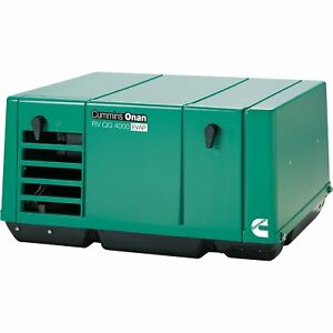 Cummins 4 0ky fa 6747 Onan Quiet Series Gasoline Rv Generator 4 0 Kw
