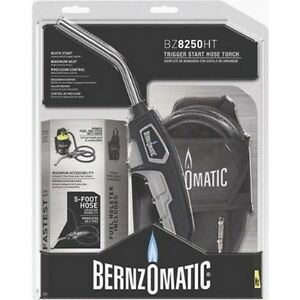 Bernzomatic Bz8250ht Trigger Start Hose Torch 3 Pack