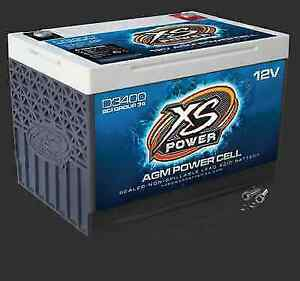 Xs Power D3400 12 Volt Bci Group 34 Agm Battery M6 Terminal Hardware Included