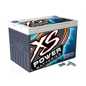 Xs Power D1600 16 Volt Agm Battery 587 Stud Adapter Hardware Included