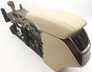 Oem Buick Lacrosse Center Console Non luxury Package Tan