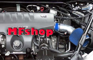 Blue For 2000 2005 Chevy Impala 3 8l V6 Air Intake System Kit Filter