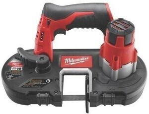 New Milwaukee 2429 20 M12 12 Volt Cordless Portable Band Saw Kit Sale