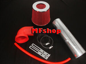Red For Long 1997 2004 Jeep Cherokee Grand 4 0l I6 Air Intake Kit Filter