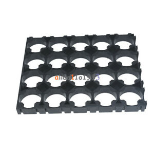 18650 Battery 4x5 Cell Spacer Radiating Shell Pack Plastic Heat Holder Us