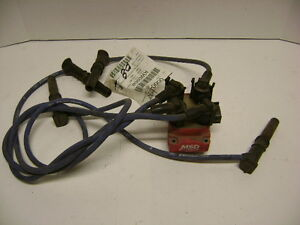 95 96 97 98 Msd Ignition 8241 Blaster Replacement Coil Ford 4 6l W Racing Wires