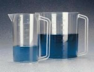 Nalgene 1223 1000 1000 Ml Pmp Beaker With Handle Case Of 6