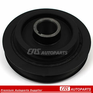 Harmonic Balancer Crankshaft Pulley For 87 93 Toyota Camry Celica 2 0l 2 2l
