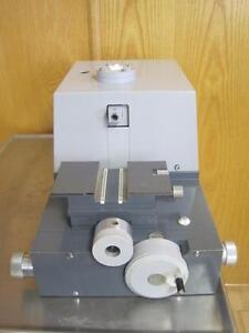 Leica Reichert Omu3 Type 700141 Microtome Om U3 Body Only No Blade