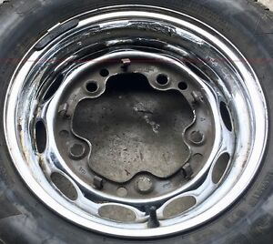 Porsche 356 356a 356b Chrome Lemmerz 4 1 2x15 Steel Wheel