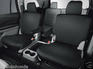 Genuine Oem Honda Pilot 2nd Second Row Seat Cover Elite Models 2016 2018 Covers