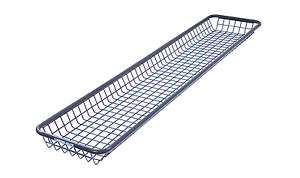 Rhino Rack Rlbn Steel Mesh Basket Narrow For Roof Cargo