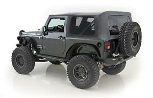 Smittybilt Soft Top For Jeep Wrangler Jk 10 18 2 Door Oem Black Diamond 9075235