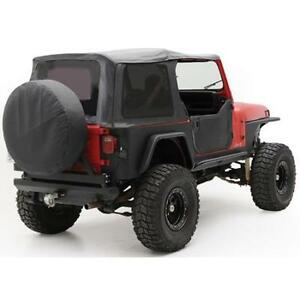 Smittybilt Soft Top For Jeep Wrangler Yj 87 95 Replacement Tinted Window 9870215