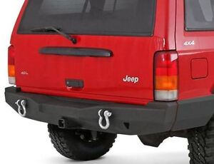 Xrc Rear Bumper With Hitch For Jeep Cherokee Xj 1984 2001 Smittybilt 76850