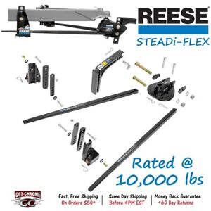66559 Reese Steadi Flex Weight Distributing Hitch With Sway Control 10 000 Lbs