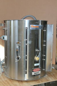 Split Tube Furnace Vertical 10500 W 2200degf Tsp Thermcraft