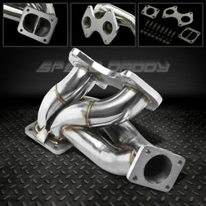 T4 t04 Td07 Turbo charger Manifold Exhaust 93 98 Mazda Rx7 Fd3s Fd S6 s7 13b rew