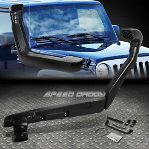 For 07 11 Jk Jeep Wrangler 3 8 V6 Air Snorkel Black Abs Ram Intake Pipe System