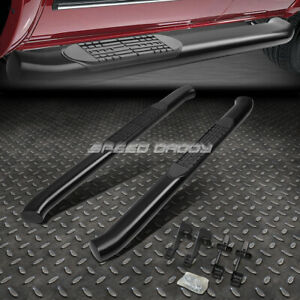 For 04 14 Ford F150 Truck Reg 4 Black Curved Oval Step Nerf Bar Running Board