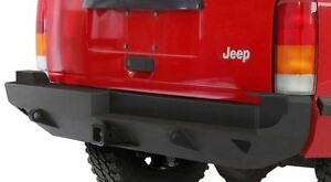 Smittybilt Xrc Rear Bumper With Hitch For Jeep Cherokee Xj 1984 2001 76851 01