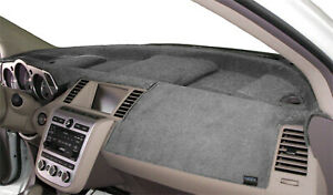 Geo Metro 1992 1994 Velour Dash Board Cover Mat Grey