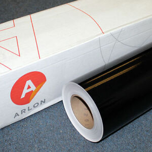 Black Gloss Arlon 5000 1 Roll 24 X 50 Feet Sign Cutting Vinyl