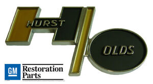 1979 Hurst Olds Cutlass Trunk Roof Panel H O Emblem