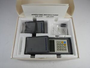 Seiko Lh 330 Coating Thickness Tester