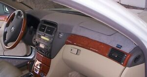 Buick Lucerne 2006 2011 Brushed Suede Dash Board Cover Mat Charcoal Grey