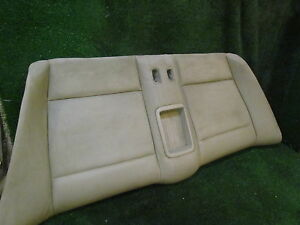 2013 Bmw 128i Convertible Rear Seat Bottom Needs Good Cleaning