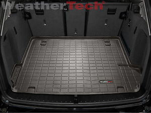 Weathertech Cargo Liner Trunk Mat For Bmw X3 2011 2017 Cocoa