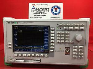 Anritsu Ms9710c Optical Spectrum Analyzer 600 To 1750nm