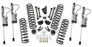 Readylift 4 Coil Spring Lift Kit Foxshox Shock Absorbers For Jeep Wrangler Jk