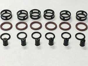 Fuel Injector Repair Kit O Rings Filters Fits 1990 1993 Nissan 300zx 3 0l V6