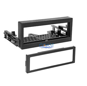 Car Radio Stereo Single Din Install Dash Kit For 1995 up Gmc Chevy Cadillac